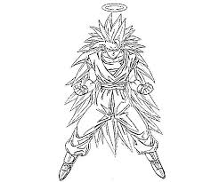 Free Printable Goku Coloring Pages