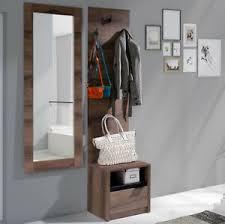 details zu garderobe set rhein v wohnzimmer kleiderbügel kommode spiegel diele flur