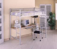 Coaster Contemporary Computer Desk by Twin Contemporary Bunk Bed W Computer Workstation And Chair
