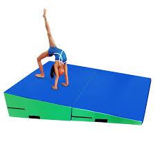 Gymnastic Floor Mats Canada by Amazon Com Mats Mats U0026 Flooring Sports U0026 Outdoors Tumbling