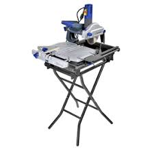 Ryobi 7 Wet Tile Saw by Kobalt 7 In Slide Tile Saw With Stand Master Bath Ideas