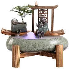 kreative wasser brunnen wasser landschaft dekoration wohnzimmer vermö büro keramik chinesischen geschenk wohnzimmer dekoration