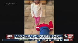 Jimmy Fallon I Ate Your Halloween Candy by Watch Jimmy Kimmel U0027s 6th Annual