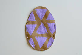 Easter Egg Paper Pouches