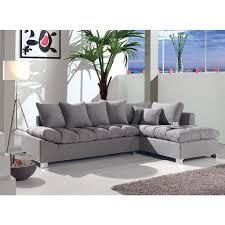 le canapé d angle idéal grand confort en tissu moelleux