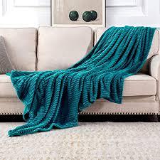 miulee kuscheldecke fleecedecke flanell decke pompoms einfarbig wohndecken couchdecke flauschig überwurf mikrofaser tagesdecke sofadecke blanket für