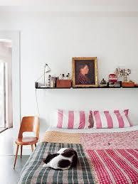 Versatile Bedroom Decor Shelves Above The Bed