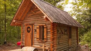 100 Second Hand Summer House Log Cabin TIMELAPSE Built By ONE MAN In The Forest YouTube