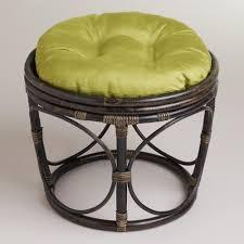 World Market Papasan Chair by Oasis Green Micro Suede Papasan Stool Cushion World Market Papasan