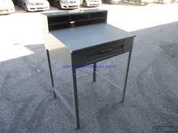 Tennsco Steel Storage Cabinets tennsco tnnsr57mg open gray steel cabinet desk shop metal bench