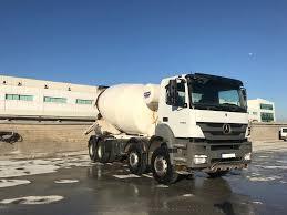 100 Concrete Truck Capacity MERCEDESBENZ 2015 Model Axor 4140 Euro 5 12 M3 Concrete Mixer Truck