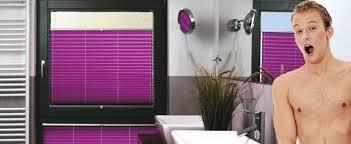 plissee badezimmer sichtschutz plissee myfaltstores