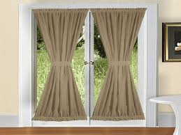 Decorative Traverse Curtain Rods by Traverse French Door Curtain Rods U2013 Home Decoration Ideas