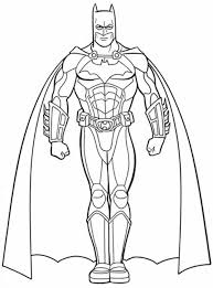 Free Coloring Page Batman At Printable Pages