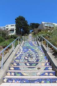 16th Avenue Tiled Steps In San Francisco by 16th Avenue Tiled Steps Picture Of 16 Avenue Tiled Steps San