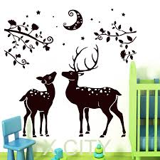 Wall Mural Decals Nursery by Online Get Cheap Moon Nursery Aliexpress Com Alibaba Group