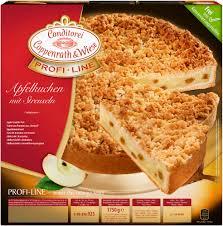 profi line apfel torte mit streuseln 1750 grams conditorei