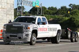 Snapped! 2017 Chevrolet Silverado, GMC Sierra HD Shed More Camo Gmc Truck W61 370 Heavy Duty Sierra Hd News And Reviews Motor1com Pickups From Upgraded For 2016 Farm Industry Used 2013 2500hd Sale Pricing Features Edmunds 2017 Powerful Diesel Heavy Duty Pickup Trucks 2018 New 3500hd 4wd Crew Cab Long Box At Banks Lighthouse Buick Is A Morton Dealer New Car Allterrain Concept Auto Shows Car Driver Blog Engineers Are Never Satisfied 2015 3500 Beats Ford F350 Ram In Towing