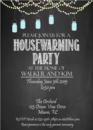 Housewarming Party Invitation DIY By Chalkboarddesign