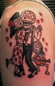 Los Muertos Family Tattoo