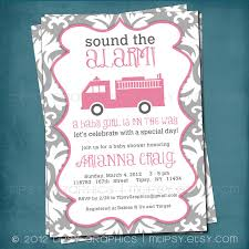 Sound The Alarm. Pretty Gray And Pink Firetruck Baby Shower Or | Etsy Fire Truck Baby Shower Invitation Etsy Thank You Card Decorations Ideas Barksdale Blessings Firefighter Invitations Unique We Still Do New Cards For Theme Babyshower Cakecentralcom Truckbaby Shower Cake Fighter Boy Pinterest The Queen Of Showers Dalmations Firetrucks Cake Queenie Cakes