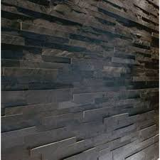 Iridescent Mosaic Tiles Uk by Sample Black Slate Split Face Mosaic Tile