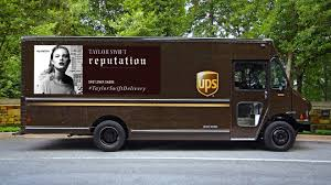 What's Driving The Unlikely Love-in Between Taylor Swift And UPS ...