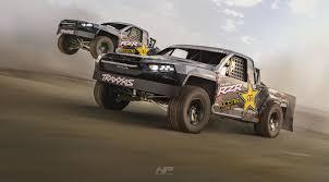 100 Trophy Truck Racing Traxxas Trophy Trucks Racing In The Desert Rendered In KeyShot By