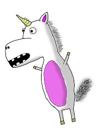 Funny Clipart Unicorn 15