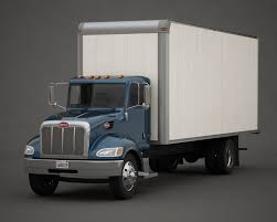 100 24 Box Truck 3d Model Of Box Truck
