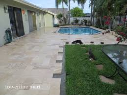 ivory travertine patio tiles and pavers traditional patio