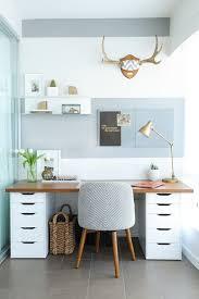 bureau de travail idées déco bureau et couleurs tendance pour espace de travail