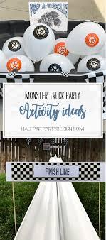 100 Monster Truck Theme Party Activity Ideas Halfpint Design