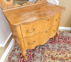 antique late victorian birds eye maple 2 drawer princess dresser w