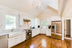 7 Renovated Kitchen With Wood Floors And White Subway Tile Cobblestone DG On Remodelaholic