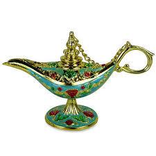 ornate aladin magic genie l oil l incense burner aladdin