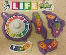 The Game Of Life Spongebob 2005 Replacement Purple Spinner Mountains Bridge