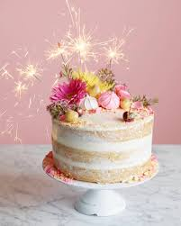 It s my birthday And I m celebrating with a Naked Birthday Cake