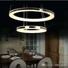 modern led chandelier acrylic pendant l living room dining room