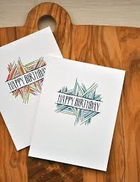 Happy Birthday Cards by Maile Belles for Papertrey Ink November 2016