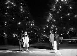 Christmas Tree Lane In 1953 Courtesy Of The USC Libraries