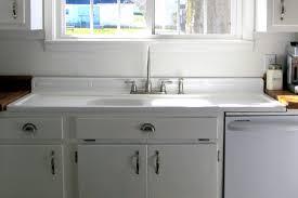 installing antique iron kitchen sink with drainboard home design