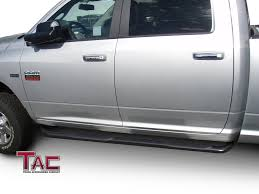 TAC Side Steps For 2009-2018 Dodge Ram 1500 Crew Cab / 2010-2018 ... 3 Round Sidebars Steelcraft Automotive Step Bars Cap World Rolling Big Power Rx3 Step Bar Bed Liner On Bars Do I Need To Remove The Plastic Covers 2018 Titan Pickup Truck Accsories Nissan Usa Sliders Nerf Pure Tacoma Parts And Amazoncom Nfab T1064r Toyota 4runner Bar With Drop Down Gevog 6 Running Boards Fit 9916 Ford F23450 Super Duty Country Step Installed Forum 22008 Dodge Ram Quad Cab 475 Wide 79 Long