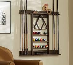Cue Stick Wall Mount Storage Rack