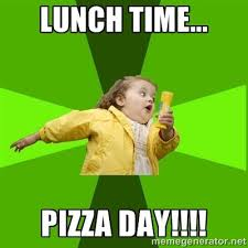Lunch Time Yet Make It A Pizza Day With 1 Cheese Slices At DelVecchios Pizzeria
