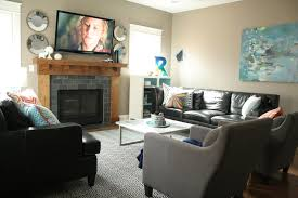 Living Room Corner Decoration Ideas by How To Layout A Living Room With Tv And Fireplace On Opposite