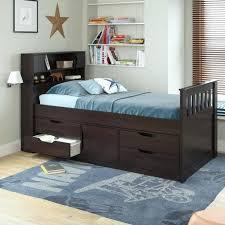 Excellent Queen Platform Bed Storage Drawers Bed With Storage