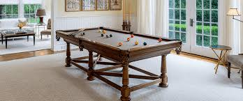 Handcrafted Since 1923 Custom Pool Tables