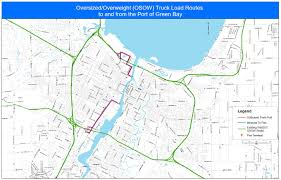 100 Truck Route Map OversizedOverweight OSOW S Port Of Green Bay