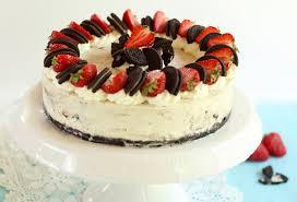 Hochzeitstorte Mit Erdbeeren Und Limetten Vegane Oreo Sahne Torte Mit Erdbeeren Ohne Backen